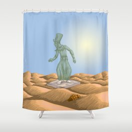Ozymandias and the Urn Shower Curtain
