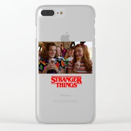 Stranger Thing, Girls Day Out Clear iPhone Case