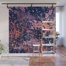 blanket of foliage in warm tones Wall Mural