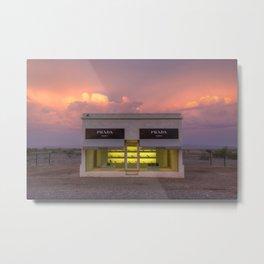Marfa at sunset Metal Print