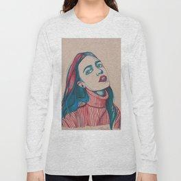 Colours as she sighs Long Sleeve T-shirt