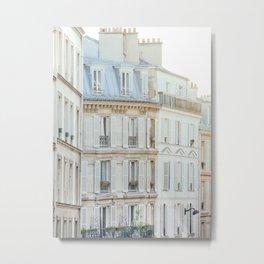 Montmartre Sunrise - Paris France Travel Photography Metal Print