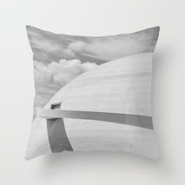 Niemeyer | architect | National Museum Throw Pillow