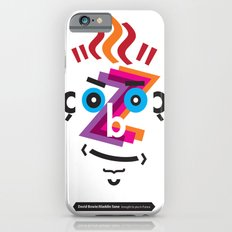 Type Faces No.2: David Bowie as Aladdin Sane brought to you in the typeface: Futura iPhone 6s Slim Case