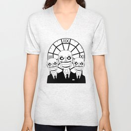 Hush - The Gentlemen (Black) Unisex V-Neck