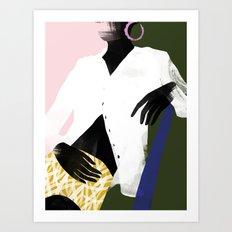 Golden Jasmin Art Print
