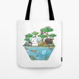 wildlife of cambodia Tote Bag