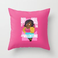 valentines Throw Pillows featuring #Valentines by Ana Amorim