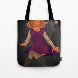 Ghost-Cat Girl Tote Bag