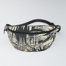 White Chaos Fanny Pack