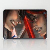 kill la kill iPad Cases featuring Kill La Kill by trixdraws