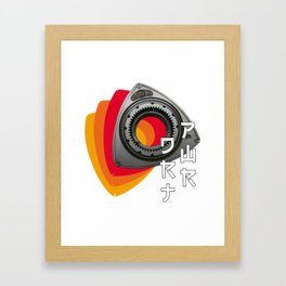 DRT PWR Framed Art Print
