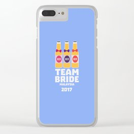 Team Bride Malaysia 2017 T-Shirt Dy7vr Clear iPhone Case