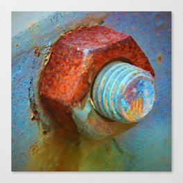 Nut and Bolt Canvas Print