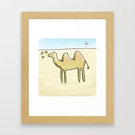 Camelia Framed Art Print
