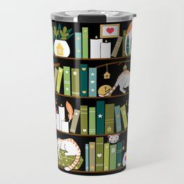 Library cats Travel Mug