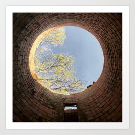 Things are looking up. Art Print
