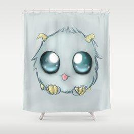 Poro Snax! Shower Curtain