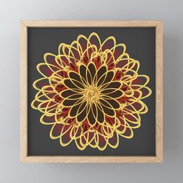Radiant Framed Mini Art Print