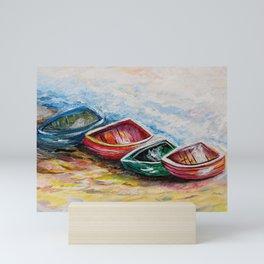 In from the Sea Mini Art Print