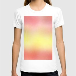 flag of spain - with cloudy colors T-shirt