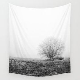 The Lonely Tree Wall Tapestry