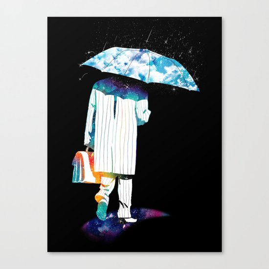 Day off Canvas Print