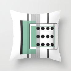 Dominoeffekt Throw Pillow