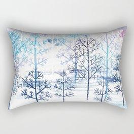 Winter Field Rectangular Pillow
