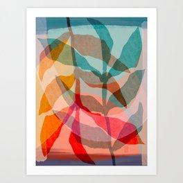 Summer Shadows Art Print