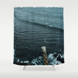 EL SALVADOR SEAS Shower Curtain