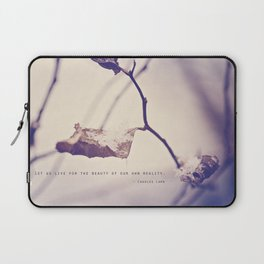 Live for the Beauty Laptop Sleeve
