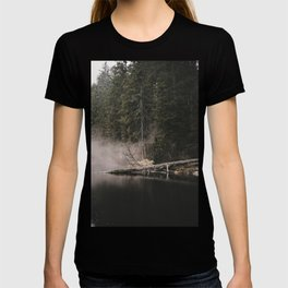 In the Fog - Landscape Photography T-shirt