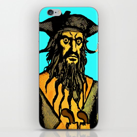 Gunslinger Teach iPhone & iPod Skin