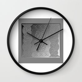 Bas Relief Knot Wall Clock