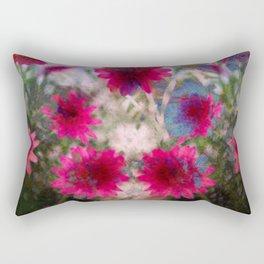 flowers abstract Rectangular Pillow