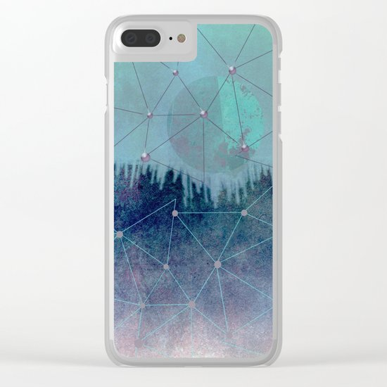 Future Planet #Society6 #buyart #decor Clear iPhone Case