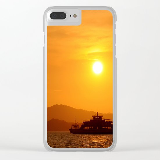 Last Ferry Clear iPhone Case