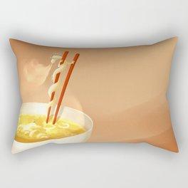 Noodle dragon Rectangular Pillow