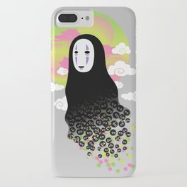 No Face and Soot Sprites iPhone Case