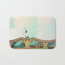 Summer Carousel Bath Mat
