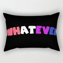 Whatever (Genderfluid) Rectangular Pillow