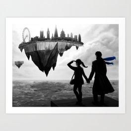 Sherlolly - Floating World Art Print