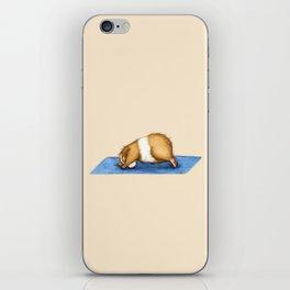 Yoguineas - Downward Facing Dog iPhone Skin