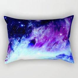 NebUla. Purple Blue Rectangular Pillow