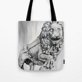 Medici Lion Painting Tote Bag
