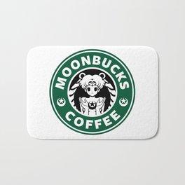 Moonbucks Coffee Bath Mat
