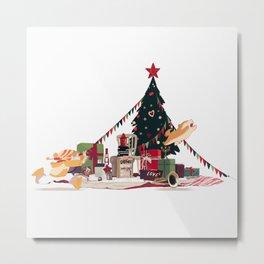 Winter Fun|Gifts Metal Print