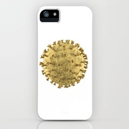 Electron Microscope C Virus 2020 iPhone Case