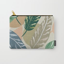Shell Ginger Leaves Carry-All Pouch